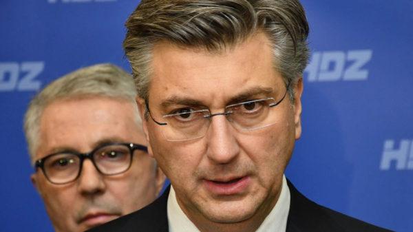 Andrej Plenković Koronavirus